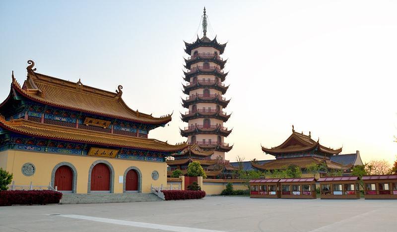 南通通州南山寺景点图片