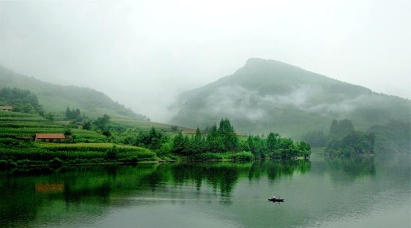 丹东青山沟景点图片