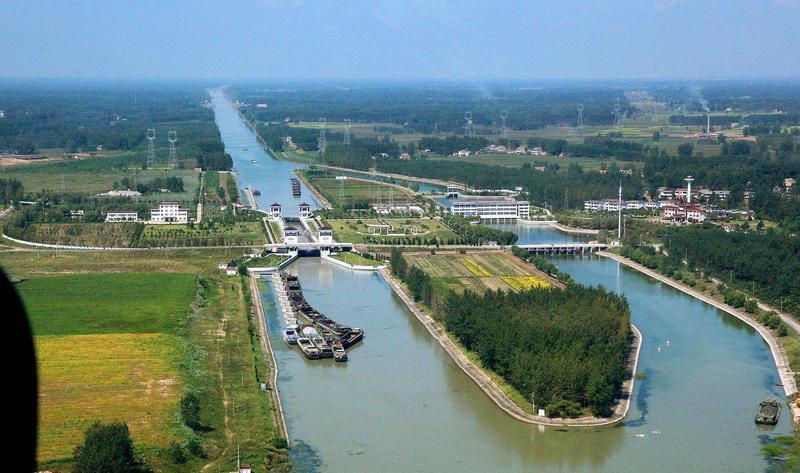 泰州引江河风景点图片
