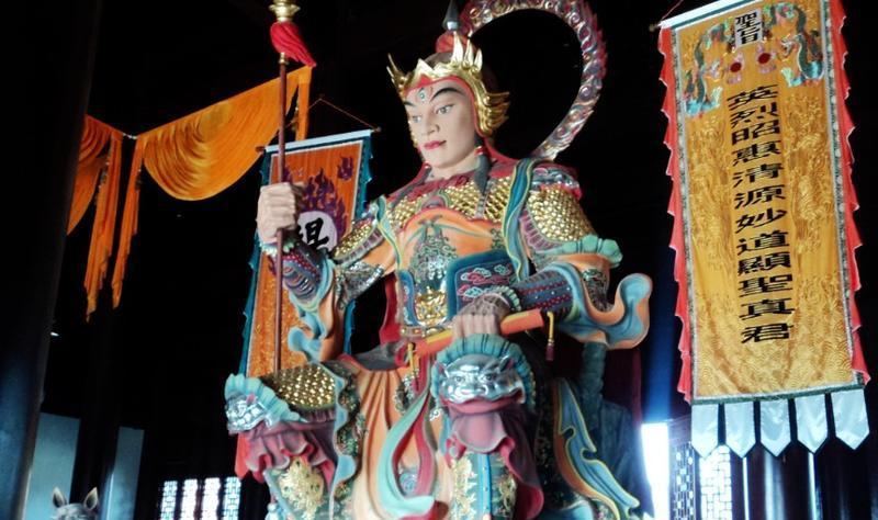灌南二郎神文化遗迹公园 之 二郎神的图片和照片