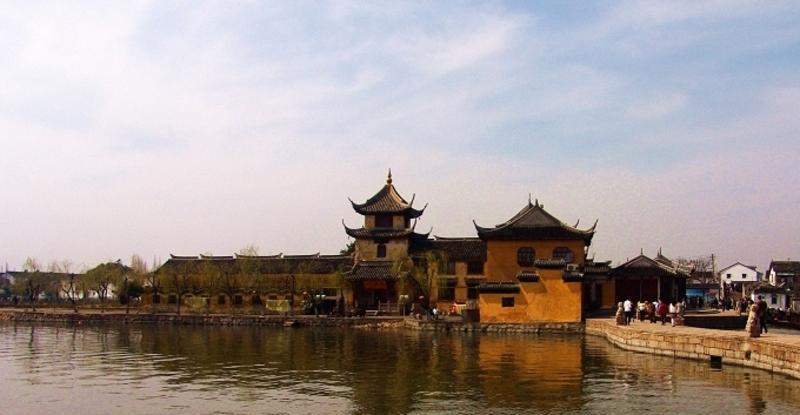 锦溪古镇景点图片