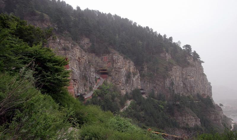 山西北岳恒山旅游区景点图片
