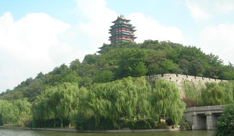 南京阅江楼景点图片