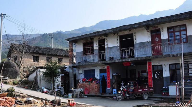云和江南畲族风情村 之 畲族新居的图片和照片