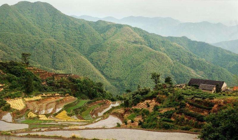 嵊州十八都江风景旅游区 之 覆卮高山滑草场