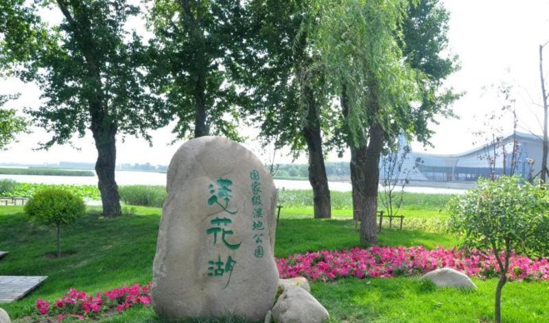 铁岭莲花湖湿地公园景点图片