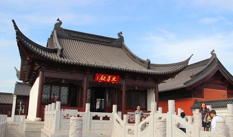 灌南二郎神文化遗迹公园 之 文昌殿的图片和照片