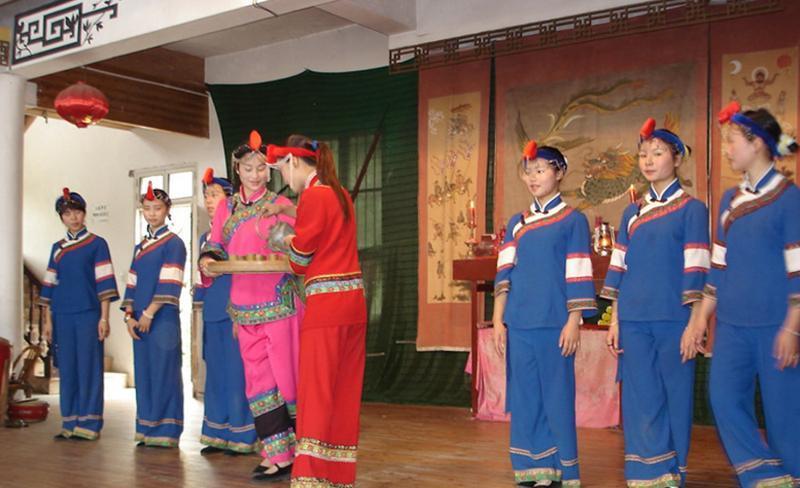 云和江南畲族风情村 之 畲族文化博物馆的图片和照片