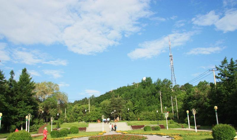 七台河桃山公园
