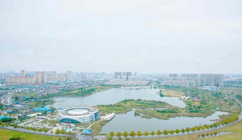 海安七星湖生态园景点图片