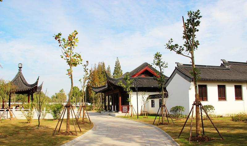 灌南二郎神文化遗迹公园 之 公园的图片和照片
