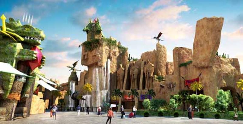 常州环球恐龙城的图片和照片