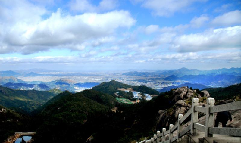 苍南玉苍山国家森林公园