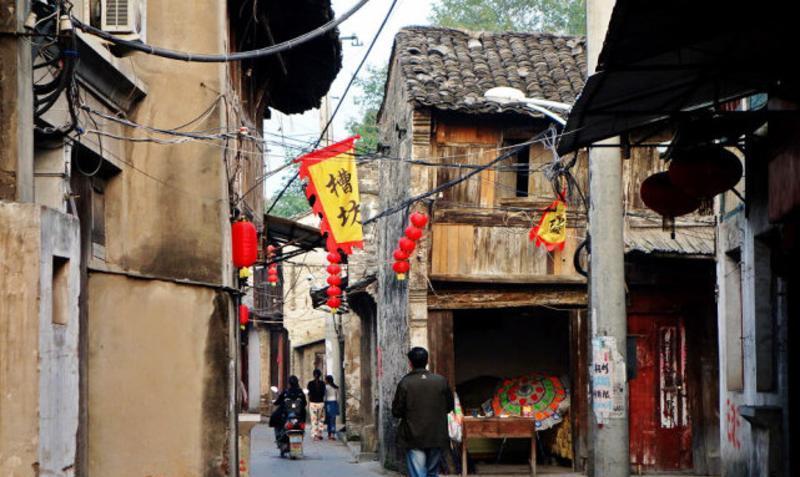 安徽含山运漕古镇老街
