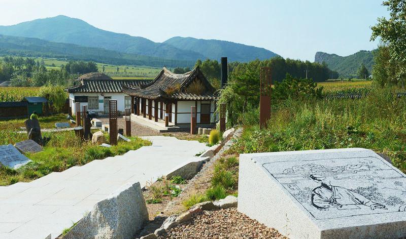 龙井明东尹东柱故居旅游风景图片