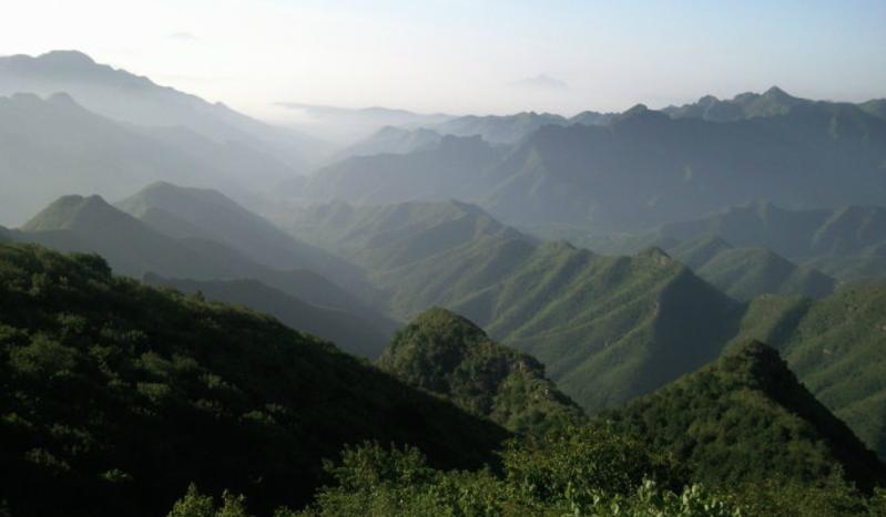 朝阳清风岭景点图片