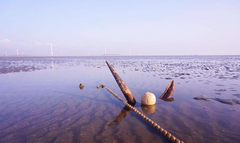 启东黄金海滩景点图片