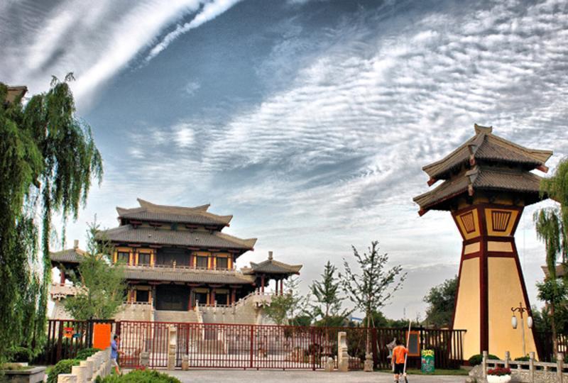 沛县汉城景点图片
