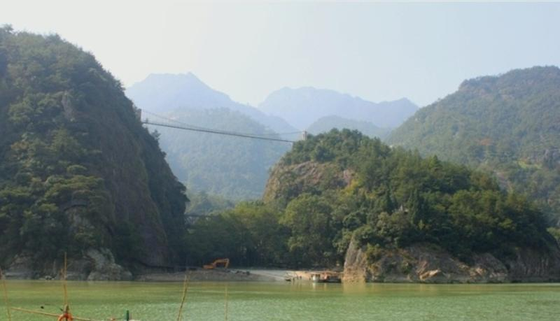 青田石门洞旅游风景图片