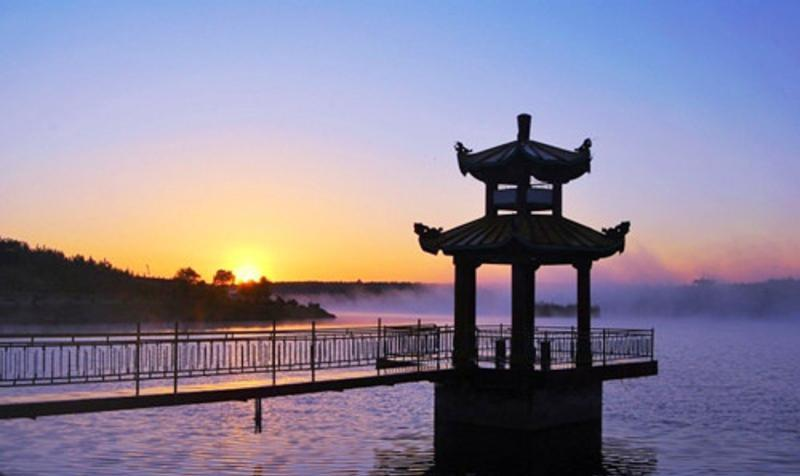 阳泉阳_吉林泉阳泉国家森林公园 之 泉阳湖_白山市旅游景点_行包客图片