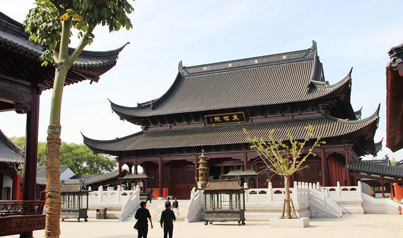 灌南二郎神文化遗迹公园 之 真君殿的图片和照片