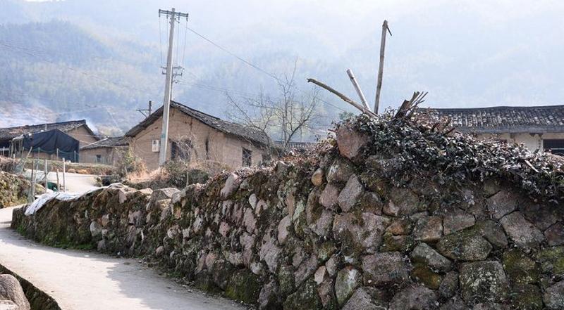 云和江南畲族风情村 之 围墙的图片和照片
