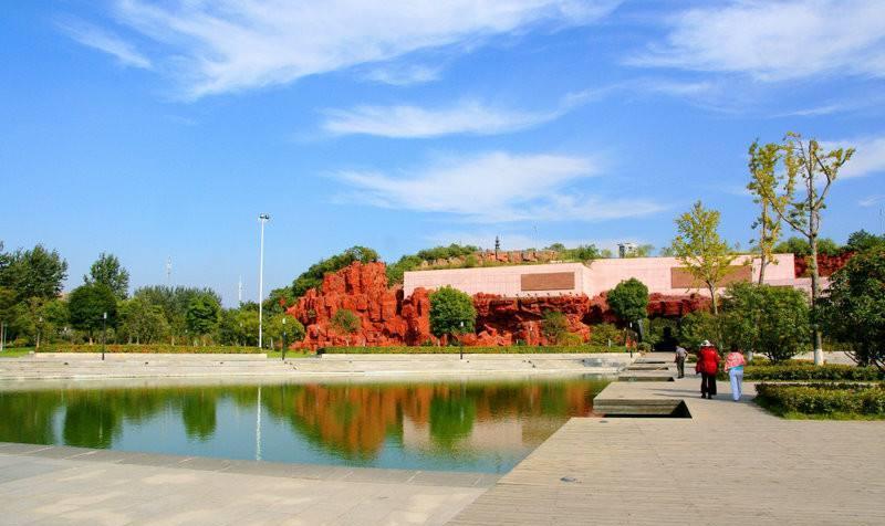 淮安钵池山公园景点图片