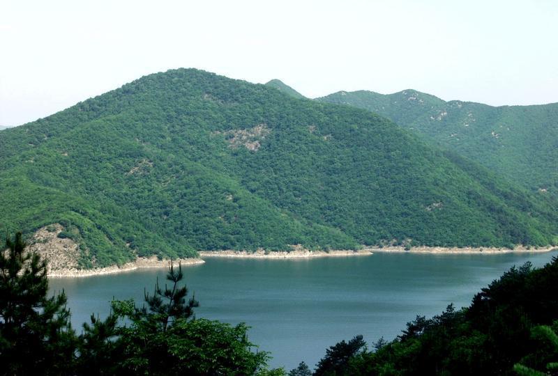 辽阳汤河风景点图片