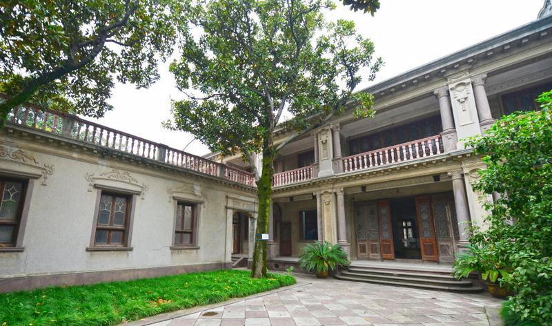 龙山虞氏旧宅建筑群旅游风景图片