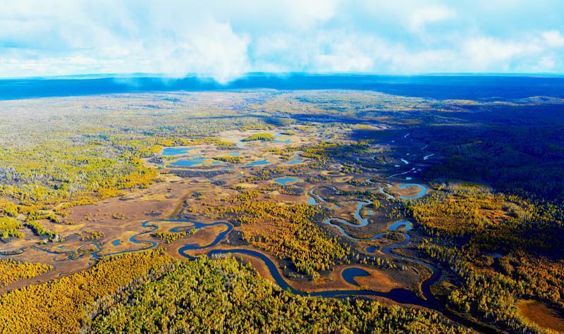 黑龙江大沾河湿地国家级自然保护区