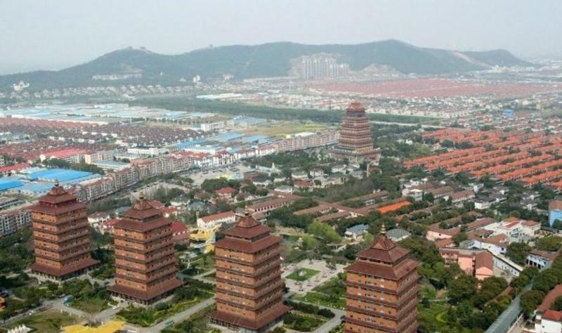 江苏江阴华西村景点图片