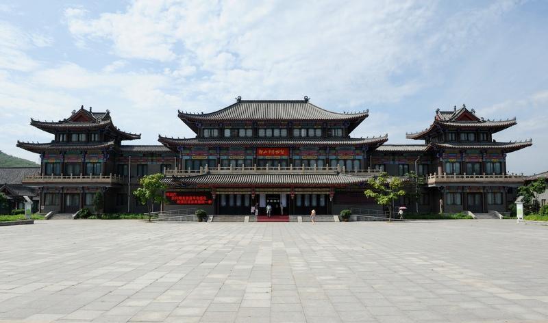 鞍山市博物馆旅游风景图片