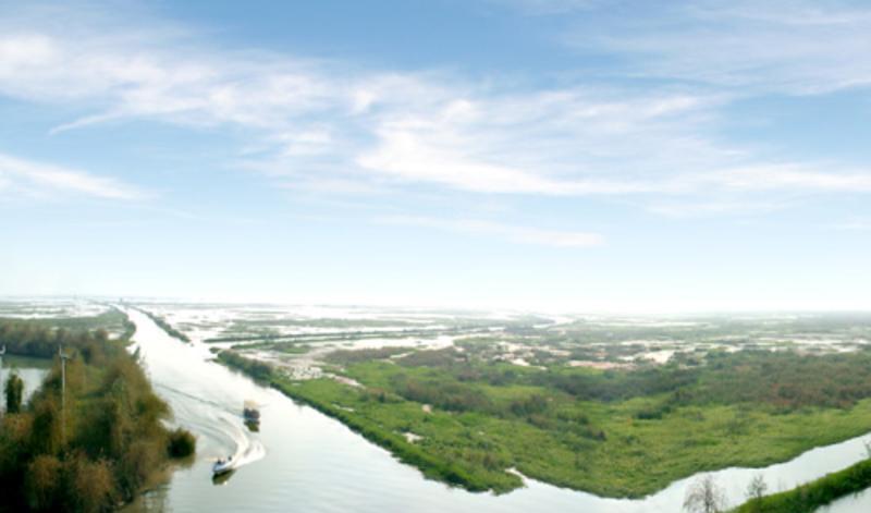 江苏洪泽湖湿地公园景点图片