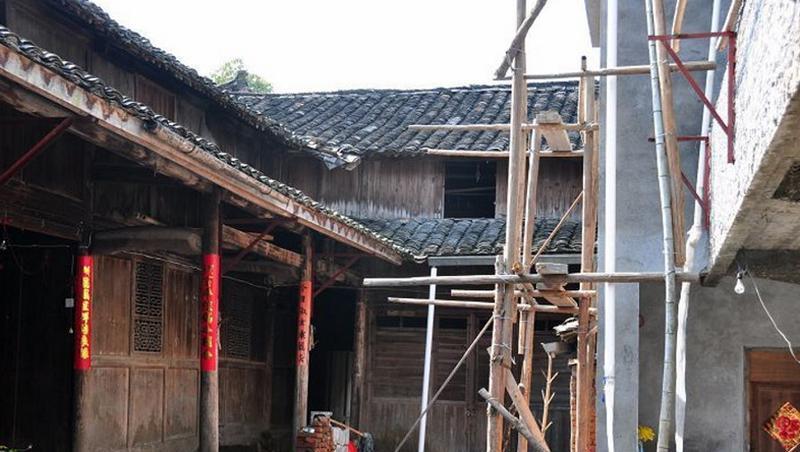 云和江南畲族风情村 之 畲族民居的图片和照片