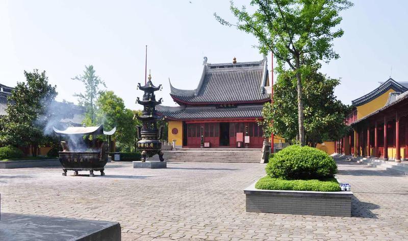 海安广福禅寺景点图片