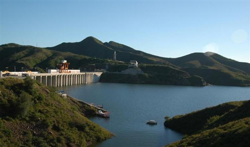 朝阳白石水库景点图片