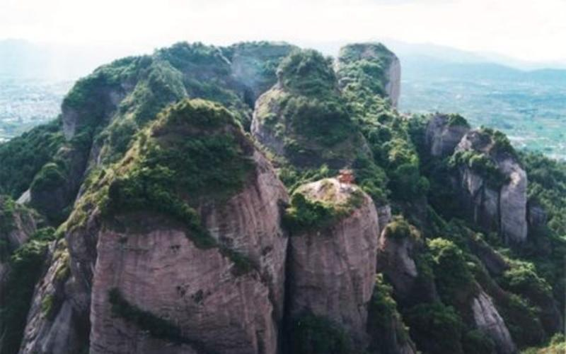 连城冠豸山风 之 冠豸山景区风景图片