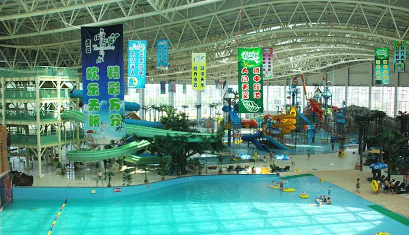 山东泰安天乐城水世界景点图片