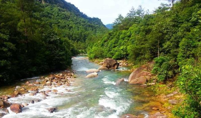 江西大茅山景点图片