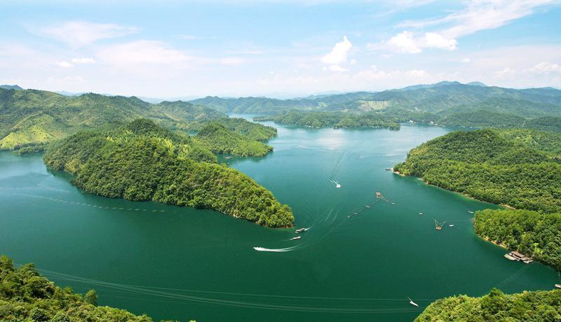 赣州陡水湖风