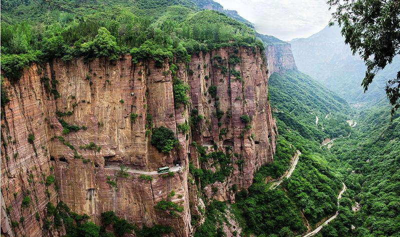 河南郭亮洞挂壁公路