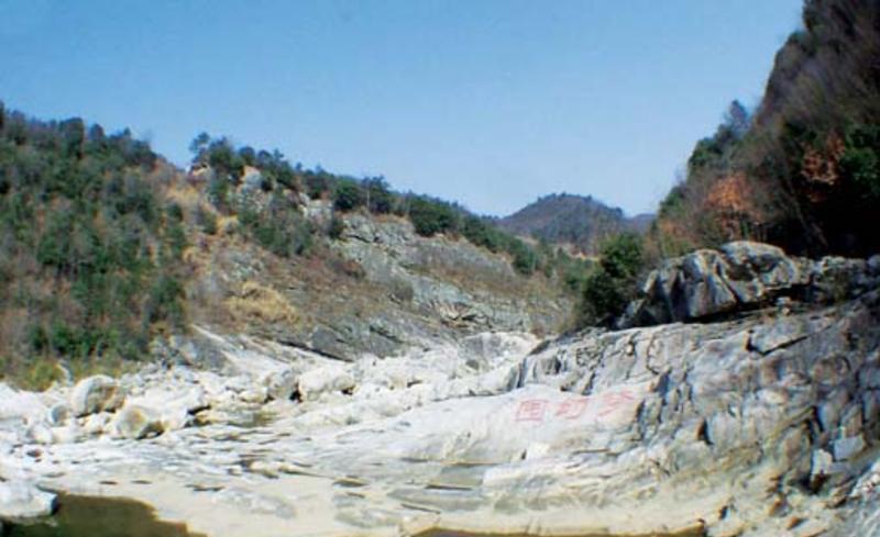 金寨燕子河大峡谷