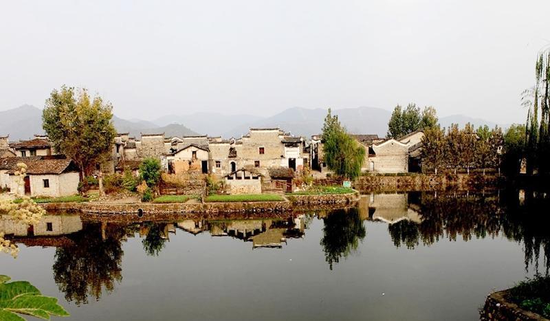 乐安流坑古村景点图片