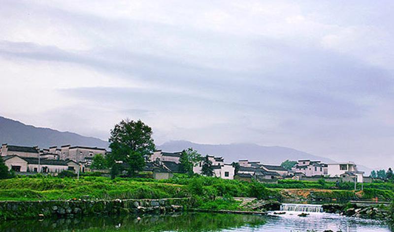 黟县南屏古村
