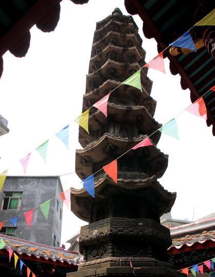 青圃青石塔