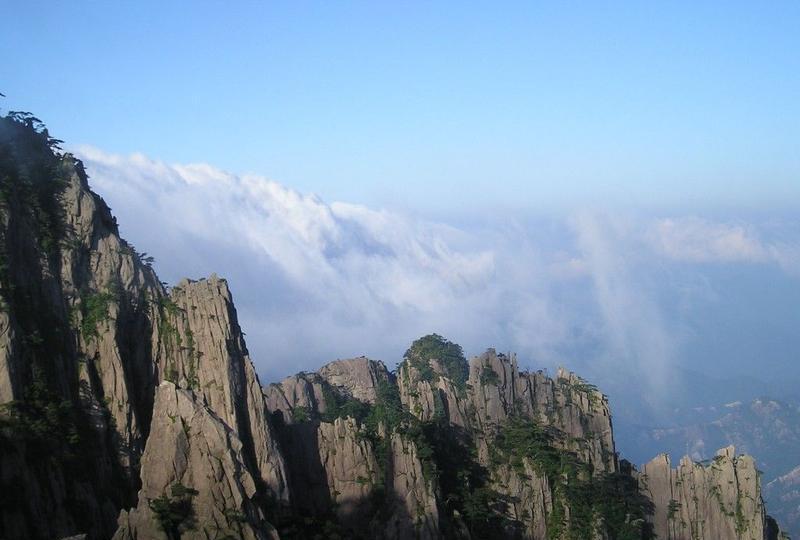 黄山风旅游风景图片