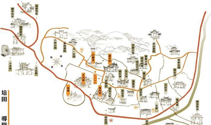 福建培田古村 之 吴家大院风景图片