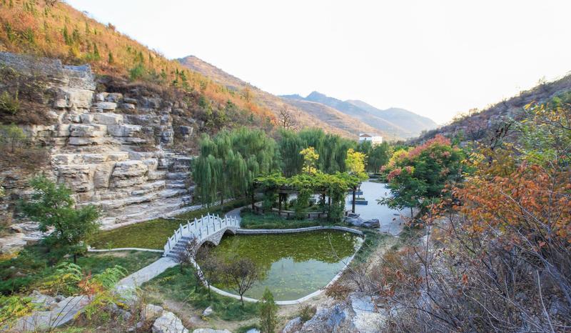 淄博潭溪山旅游区景点图片