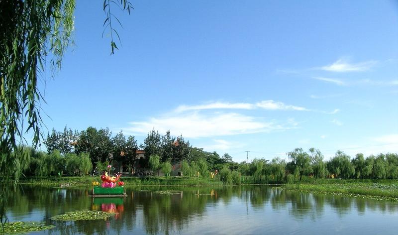 淄博马踏湖风