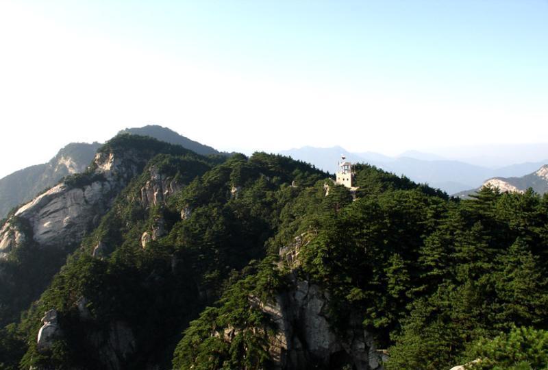 """首页 六安市 >六安天堂寨          天堂寨风景区被誉为""""华东最后一片"""